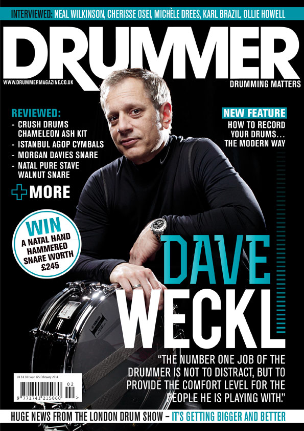 Drummer Mag Cover - Feb 2014