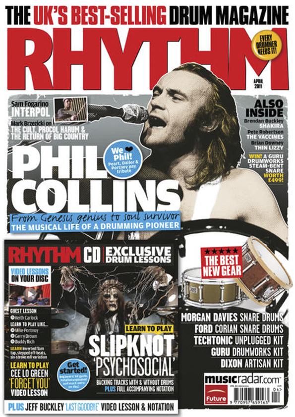 Rhythm Mag Cover - Apr 2011