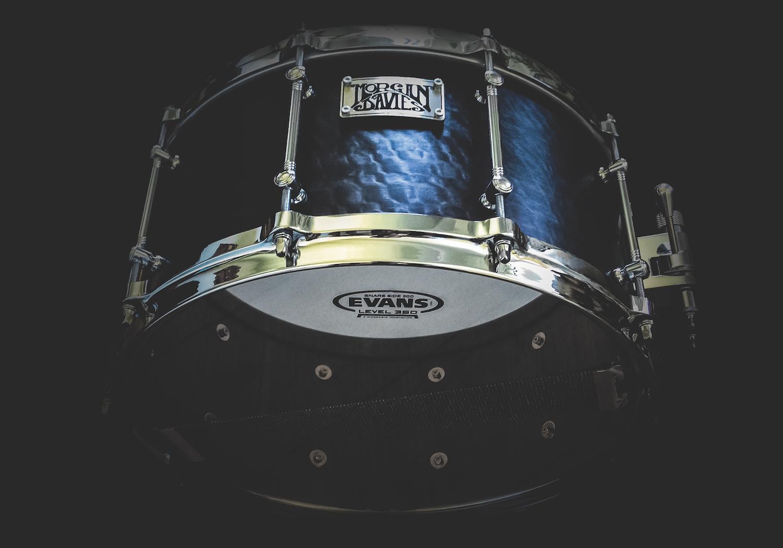 10 years of Morgan Davies bespoke hand made drums