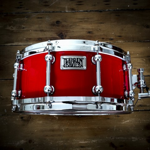 SNARE DRUM - RED LACQUER