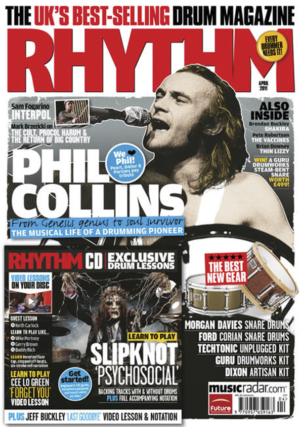 Rhythm Mag Cover - Apr 2011
