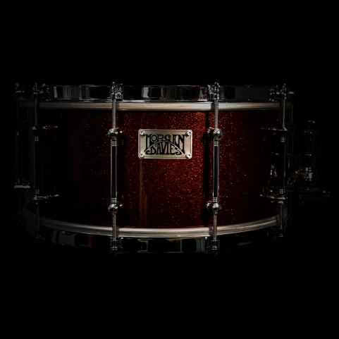 SNARE DRUM - RED SPARKLE LACQUER