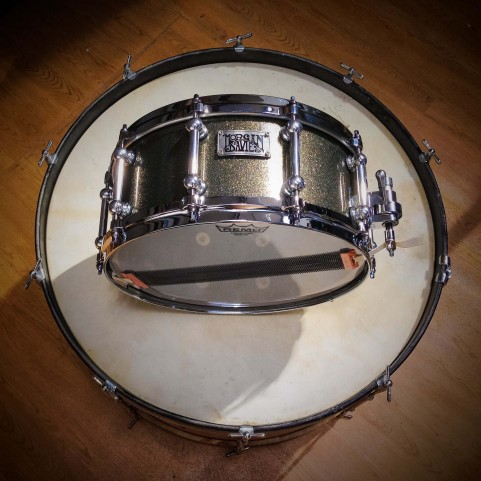 Bespoke: Gold Sparkle Birch 14 x 6.5